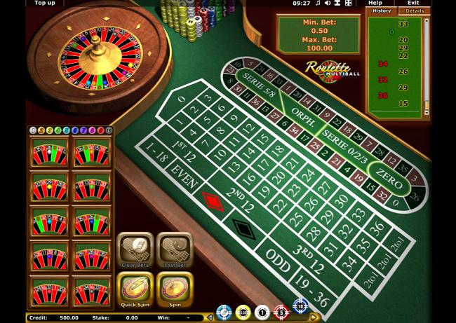 multiball roulette casino