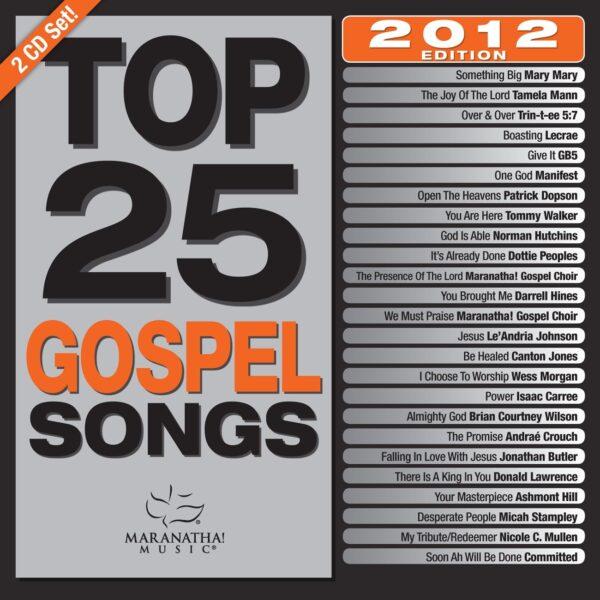 Maranatha Top 25 2012
