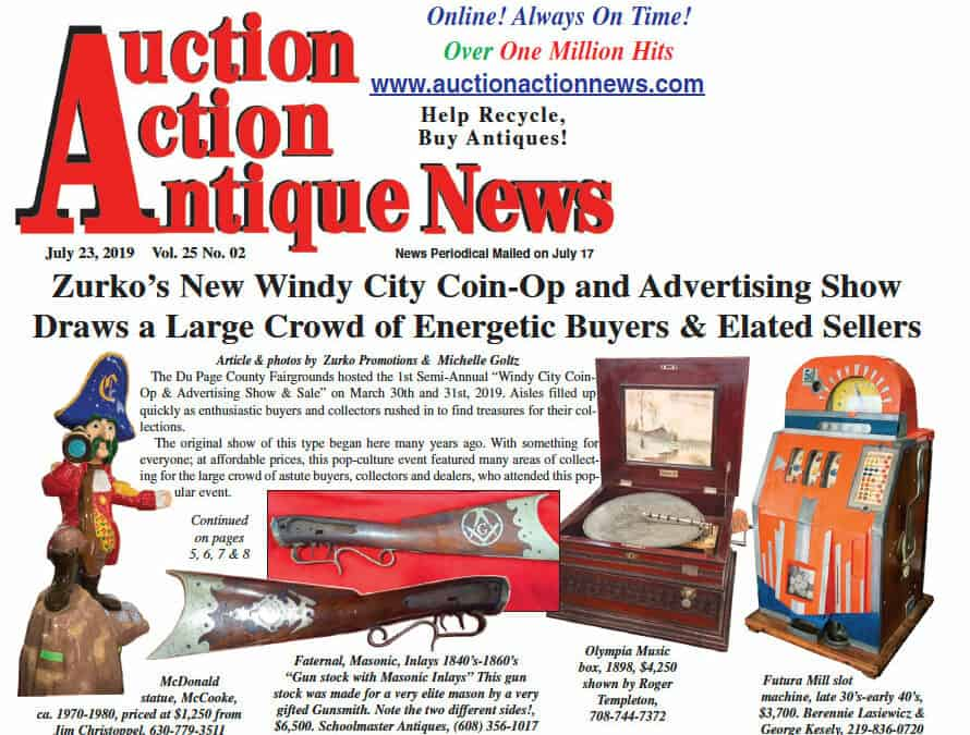 Windy City Coin Op & Antique Advertising Show Draws Large Crowd!