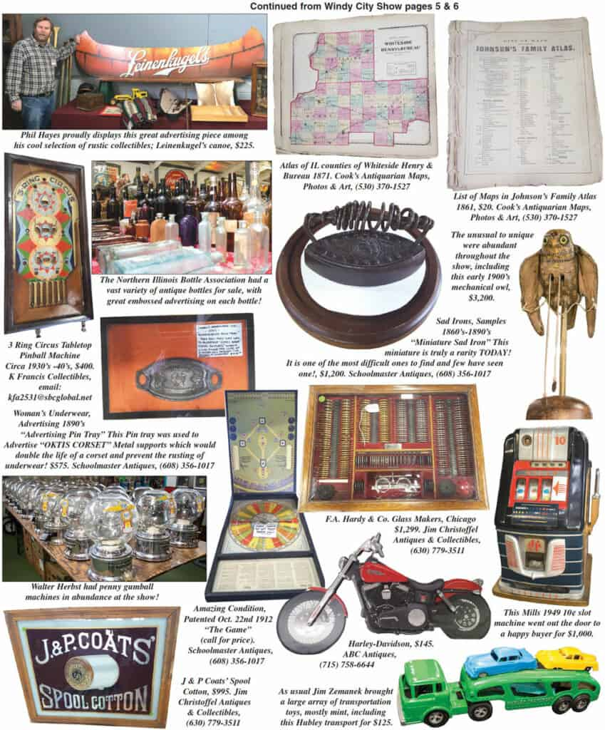 Antique Advertising Show at DuPage County Fairgrounds