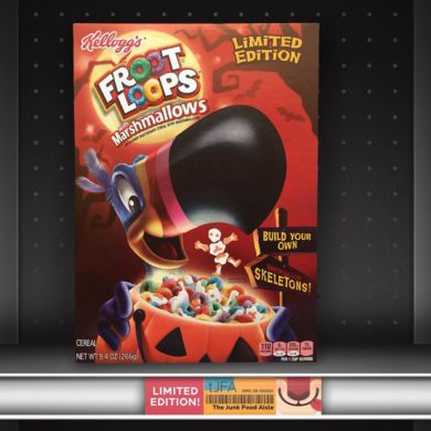 Kellogg's Halloween Froot Loops with Marshmallows