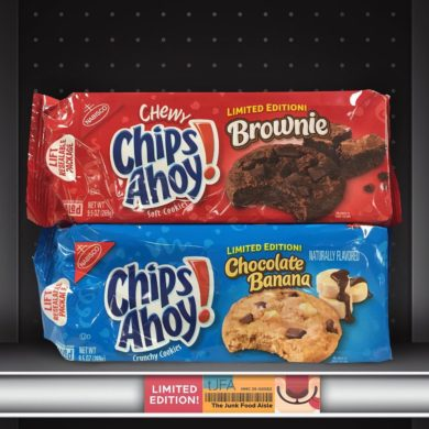 Chips Ahoy Chewy Brownie and Chocolate Banana