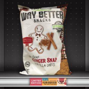 Way Better Snacks Oh Snap! Ginger Snap Tortilla Chips