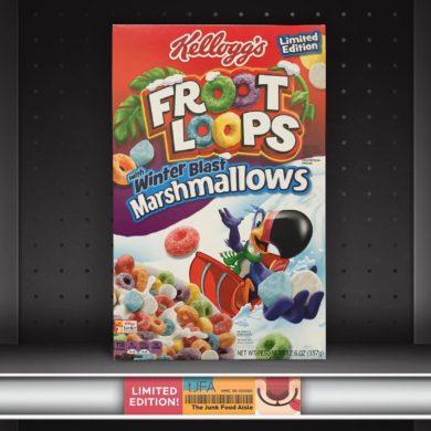 Kellogg's Froot Loops with Winter Blast Marshmallows