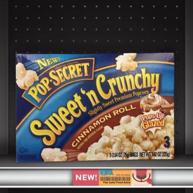 Pop-Secret Sweet 'n Crunchy Cinnamon Roll Popcorn