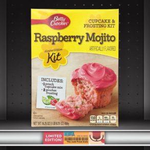 Betty Crocker Raspberry Mojito Cupcake & Frosting Kit