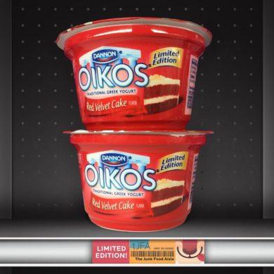 Dannon Oikos Red Velvet Cake Greek Yogurt