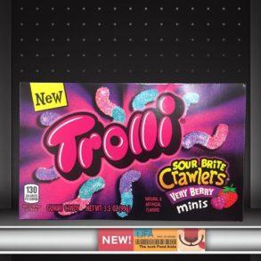 Trolli Sour Brite Crawlers Verry Berry Minis