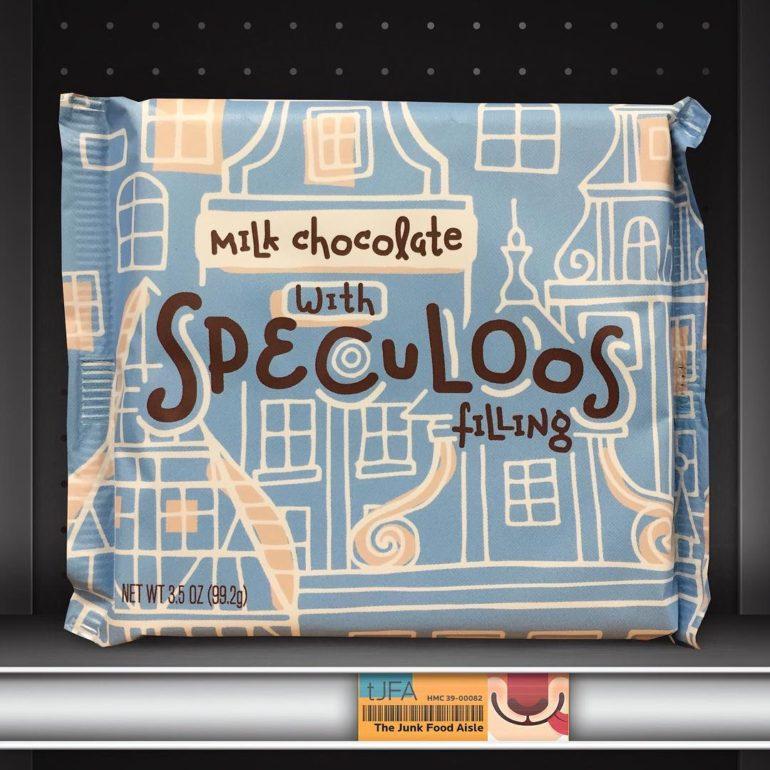 World Market Speculoos Milk Chocolate Bar
