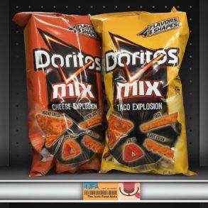 Doritos Mix Cheese Explosion and Taco Explosion