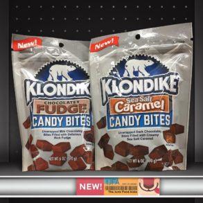 Klondike Sea Salt Caramel and Chocolatey Fudge Candy Bites