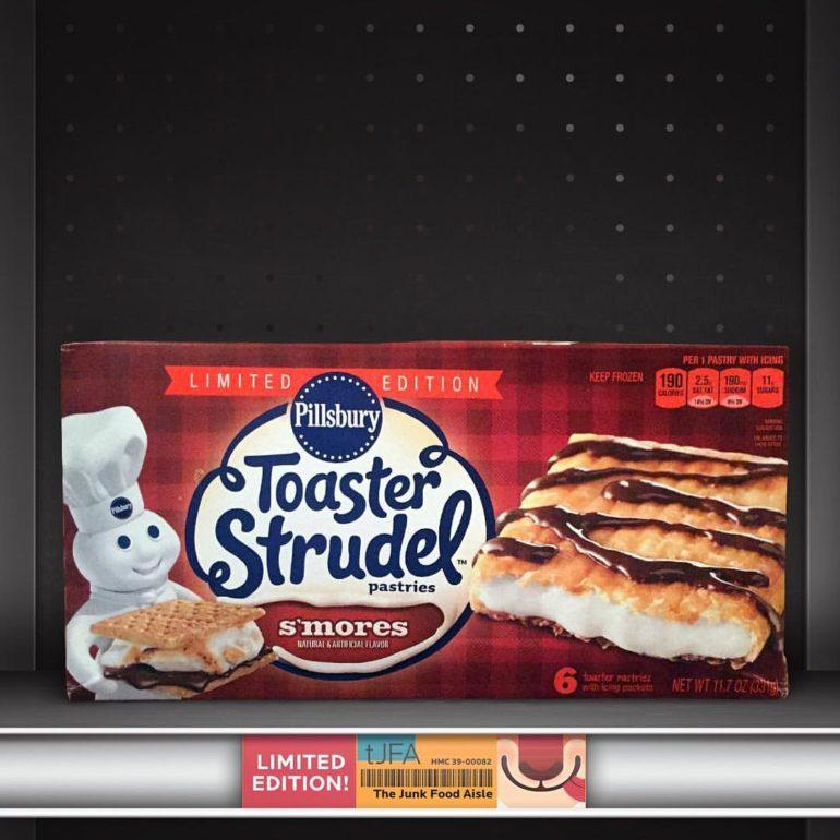 Pillsbury Toaster Strudel S'mores