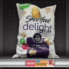 Smartfood Delight Sea Salt Caramel Popcorn