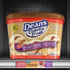 Dean's Country Fresh Sea Salt Caramel Cheesecake Ice Cream