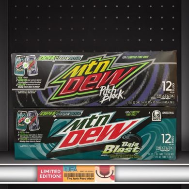 MTN DEW Pitch Black and Baja Blast