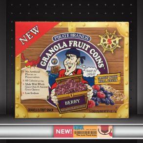 Pirate Brands Berry Granola Fruit Coins