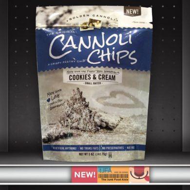 Cookies & Cream Cannoli Chips