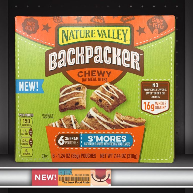 Nature Valley Backpacker S'more Chewy Oatmeal Bites