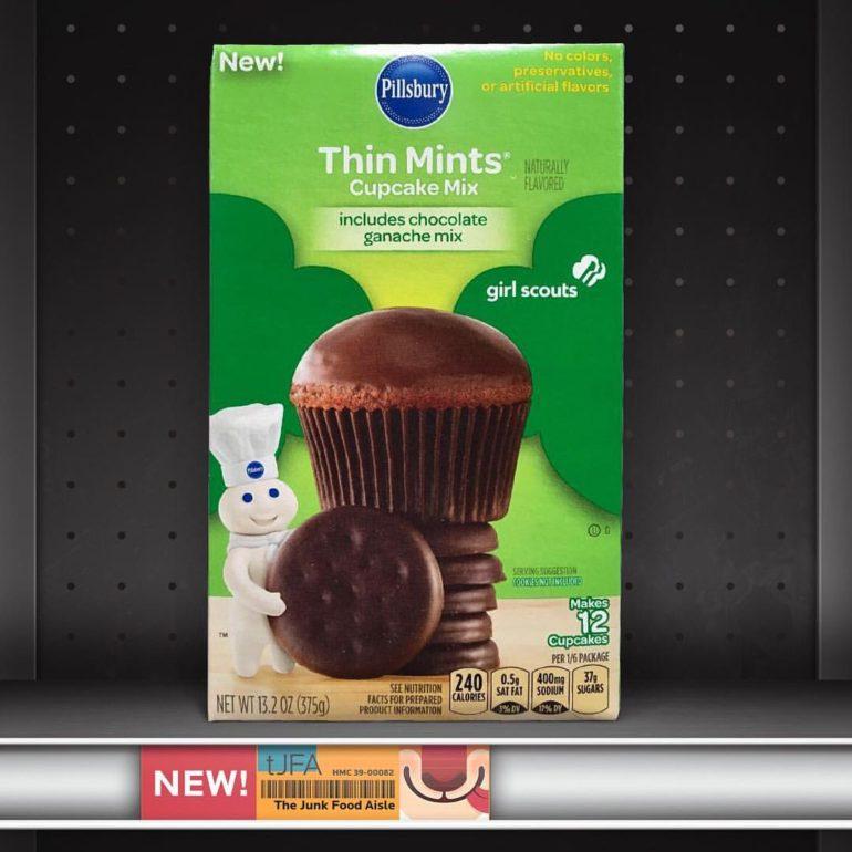 Pillsbury Thin Mints Cupcake Mix