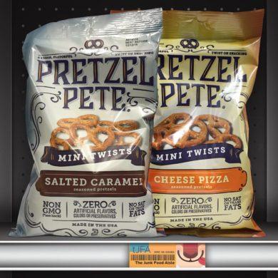 Pretzel Pete Mini Twists: Salted Caramel & Cheese Pizza