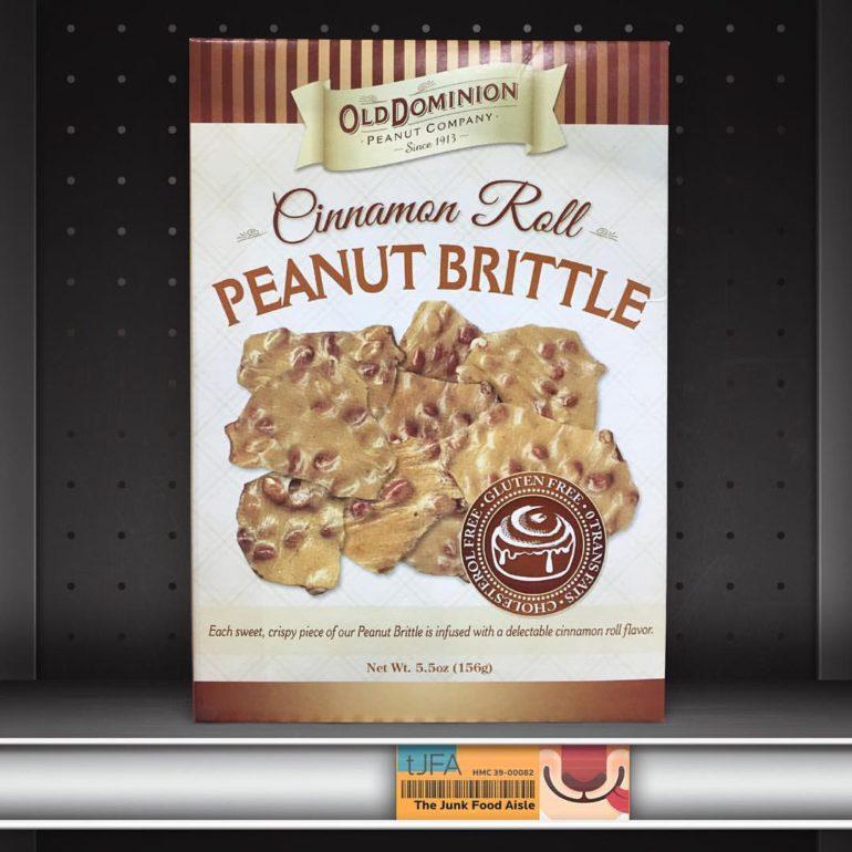 Old Dominion Cinnamon Roll Peanut Brittle