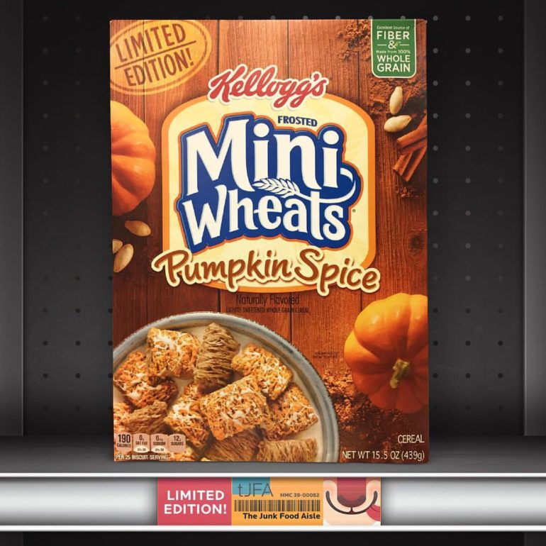 Kellogg's Pumpkin Spice Frosted Mini Wheats