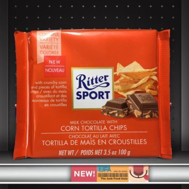 Ritter Sport Milk Chocolate with Corn Tortilla Chips