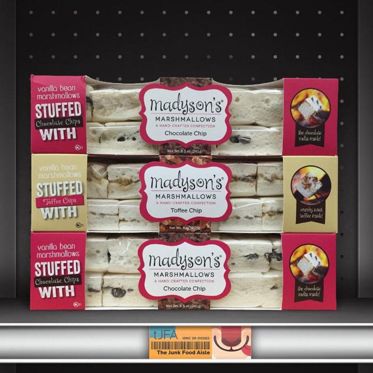 Madyson's Stuffed Vanilla Bean Marshmallows