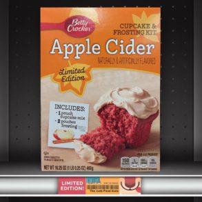 Betty Crocker Apple Cider Cupcake & Frosting Mix