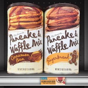 My Favorite Cinnamon Bun & Gingerbread Pancake & Waffle Mix