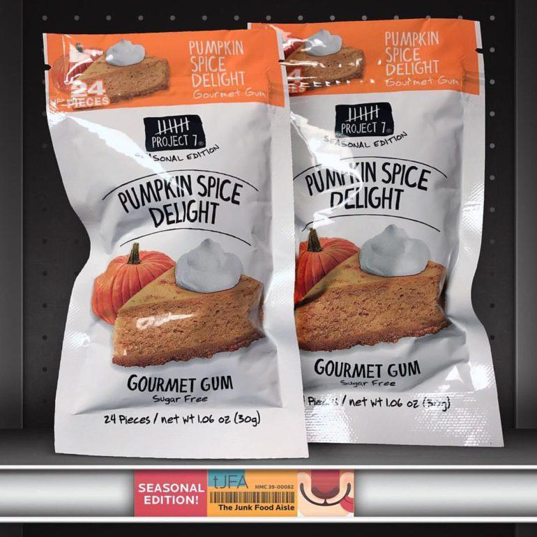 Project 7 Pumpkin Spice Delight Gourmet Gum
