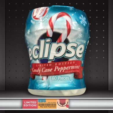Eclipse Candy Cane Peppermint Gum