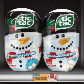 Tic Tac Snowman Fruit Mix