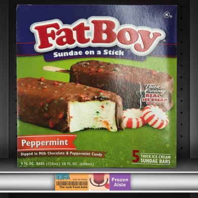 FatBoy Sundae on a Stick Peppermint Ice Cream Bars