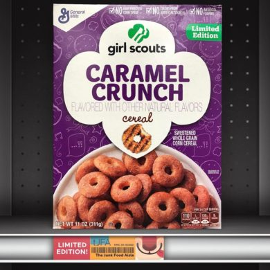 Girl Scouts Caramel Crunch Cereal