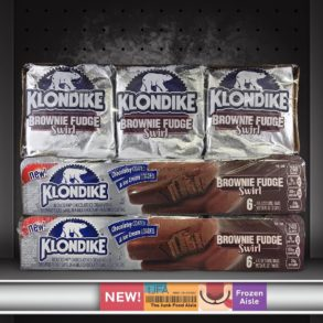 Brownie Fudge Swirl Klondike Bars