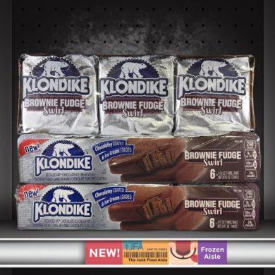 Brownie Fudge Swirl Klondike Bars