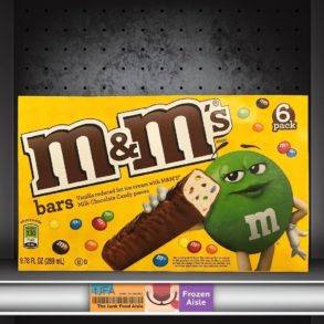 M&M's Ice Cream Bars