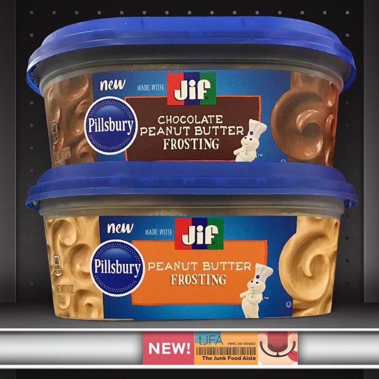 Pillsbury + Jif Peanut Butter & Chocolate Peanut Butter Frosting