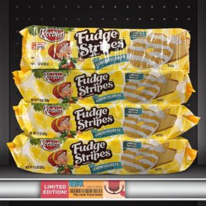 Lemon Cream Pie Fudge Stripes