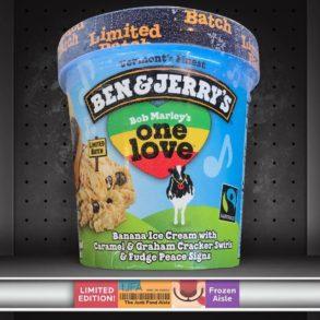 Ben & Jerry's Bob Marley's One Love Ice Cream