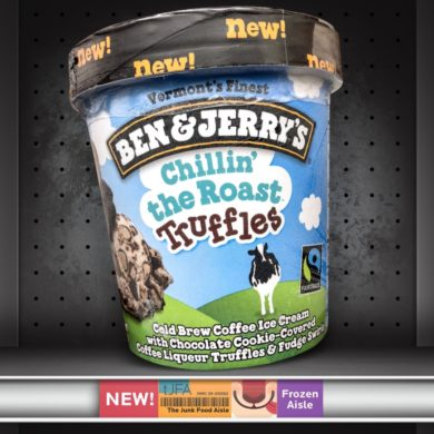 Ben & Jerry's Chillin' the Roast Truffles Ice Cream