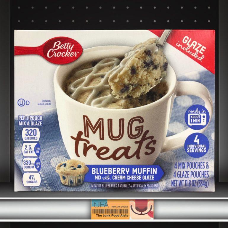 Betty Crocker Mug Treats: Blueberry Muffin