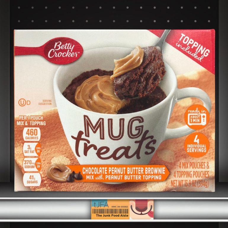 Betty Crocker Mug Treats: Chocolate Peanut Butter Brownie