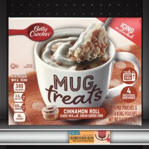 Betty Crocker Mug Treats: Cinnamon Roll