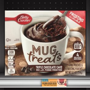 Betty Crocker Mug Treats: Triple Chocolate Cake