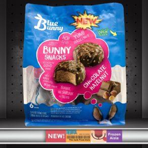 Blue Bunny Chocolate Hazelnut Bunny Snacks