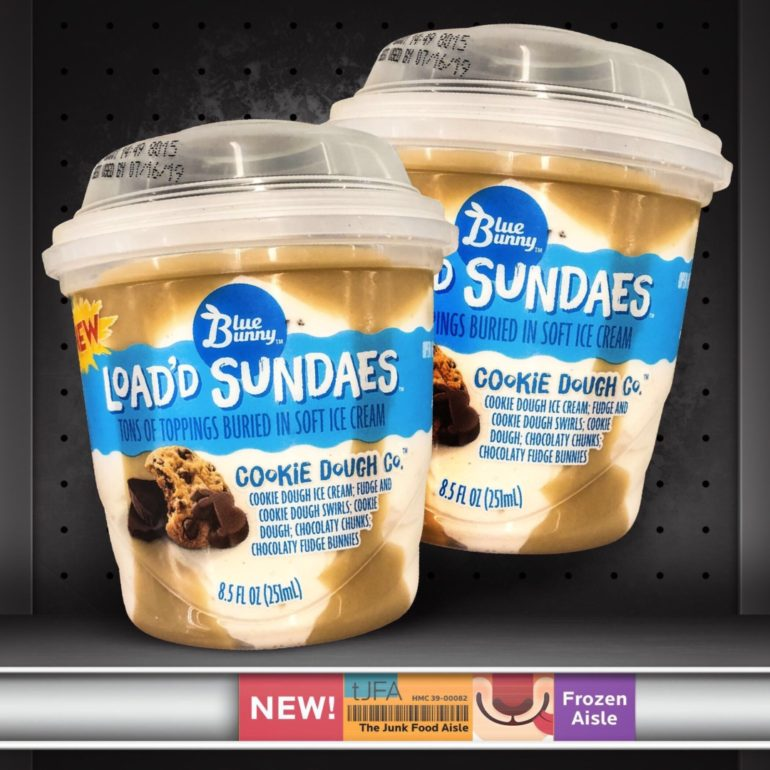 Blue Bunny Load'd Sundaes: Cookie Dough Co