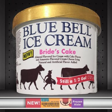 Brides Cake Blue Bell Ice Cream