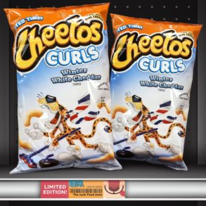 Cheetos Winter White Cheddar Puffs